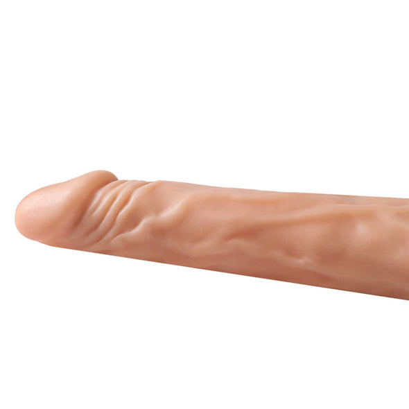 Textured Realistic Silicone Dildo Vibrator with Intelligent Heating 20 cm - Room Privée™