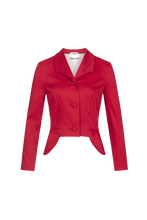 Load image into Gallery viewer, red-vintage-blazer