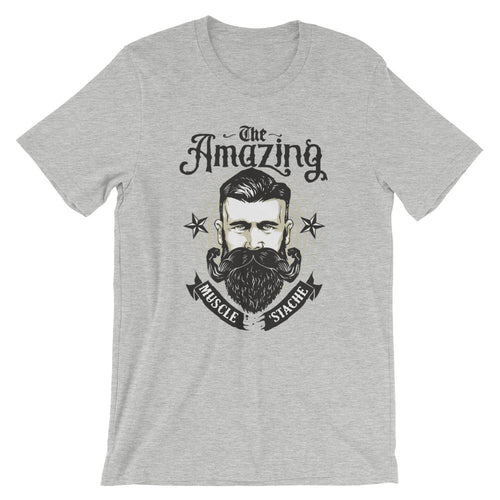 The Amazing Muscle-Stache T-shirt