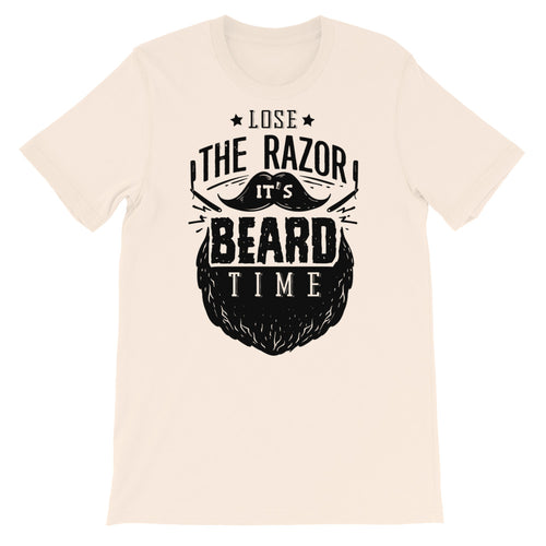 Loose The Razor It's Beard Time T-Shirt
