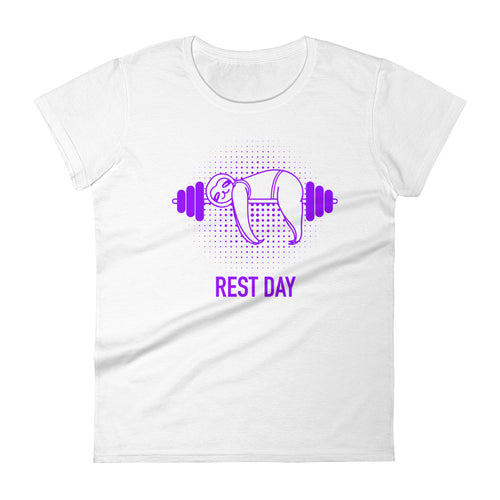 Sloth Gym Rest Day T-shirt