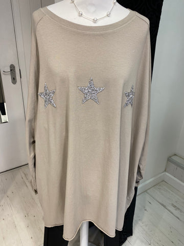 Star Oversized Top