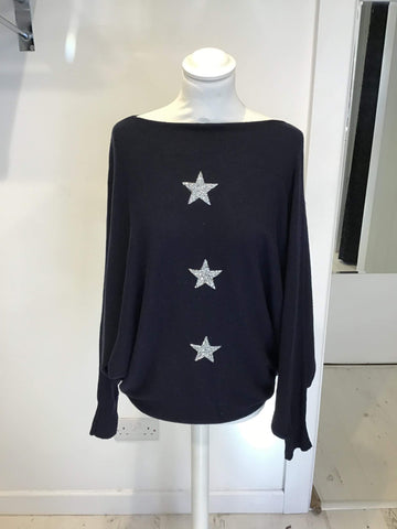 3 Star Batwing Jumper