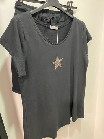 Star Shorts & T-shirt Set