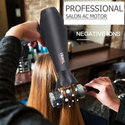 Hair Dryer,Negative Ionic Blow Dryers,1875 Watt Fast Drying Professional Salon Hair Blow Dryer with Concentrator/Diffuser/Styling Pick for Curly,Straight Hair
