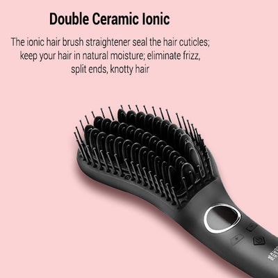 JINRI® Hair Straightener Brush