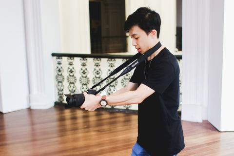 Man behind the lens; Justin David Ong