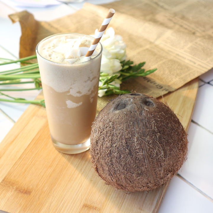 Coconut Dairy free Coffee Frappe recipe