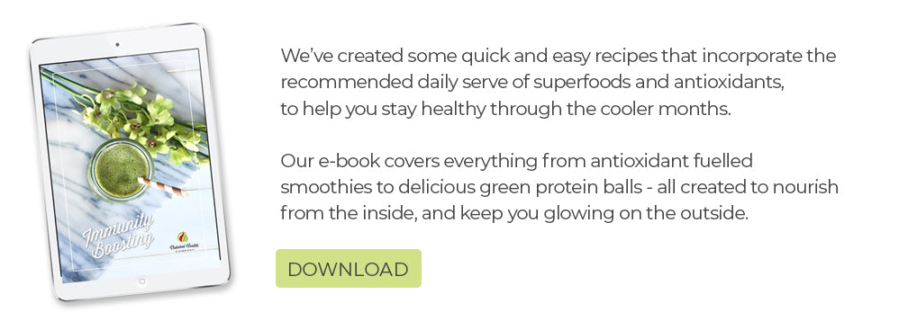 Immunity boosting recipes e-book