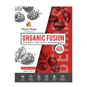 Organic Fusion Acai Berry Single Serve
