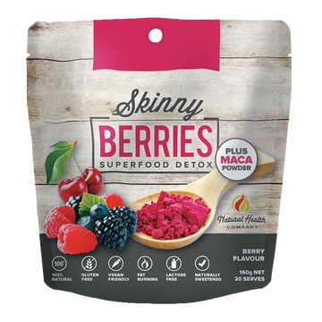 Skinny Berries Superfood Detox powder