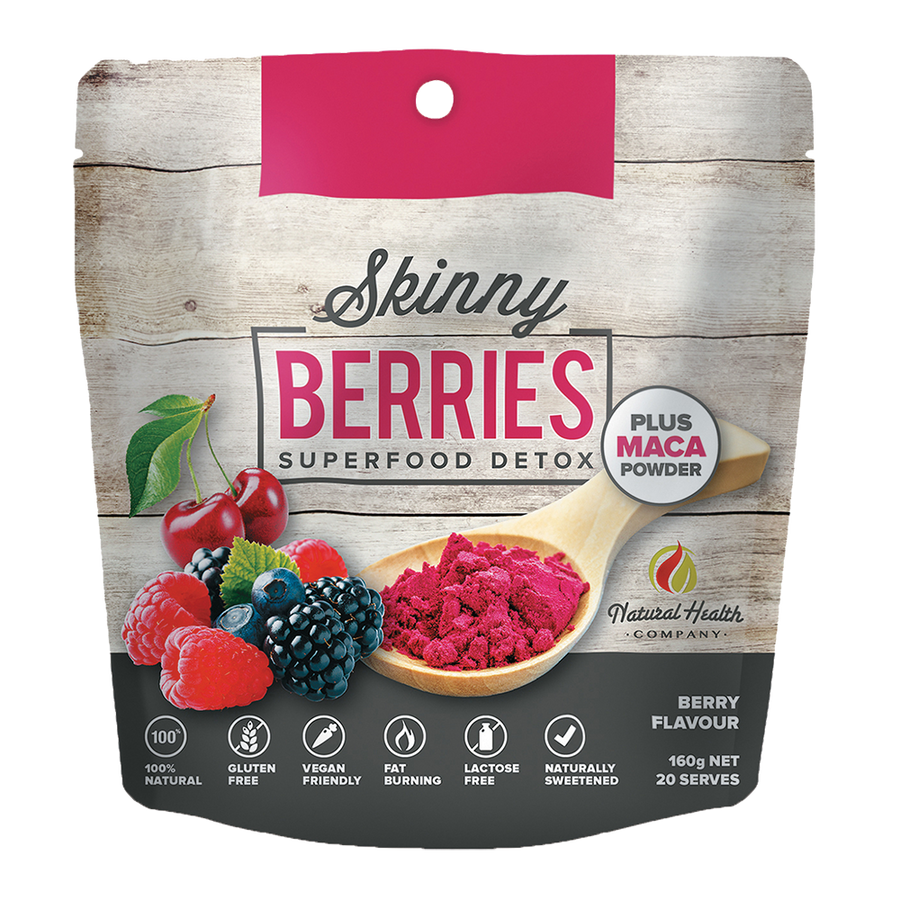 super food powder berries