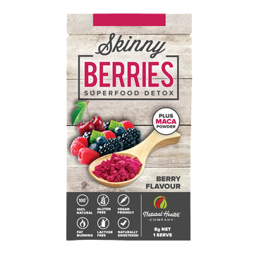 Skinny Berries Superfood Detox Single Serve