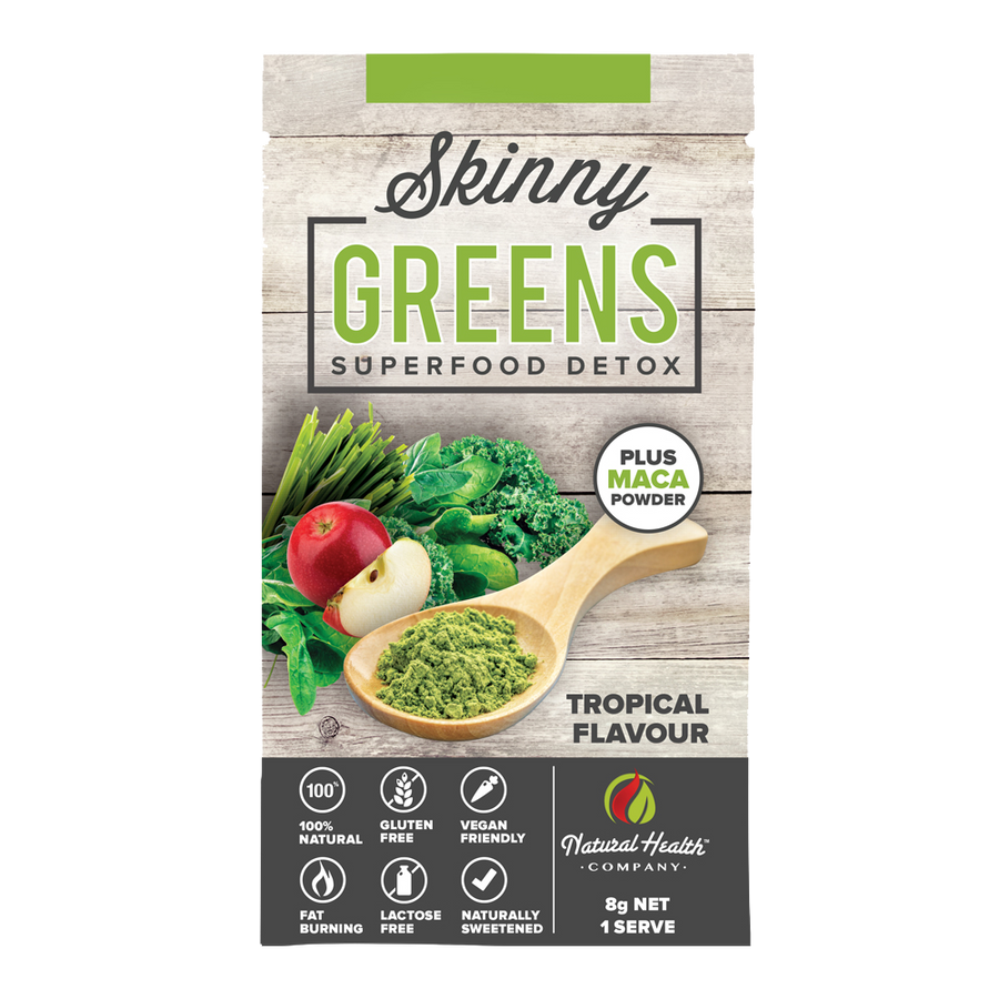 Skinny Greens Superfood Detox Single Serve