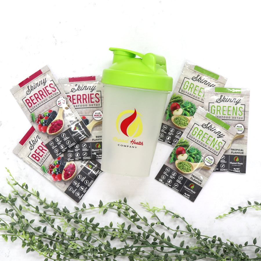 Natural health company supers sample pack