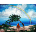 Rainbow of Hope Original Painting - Laura Milnor Iverson Official Site