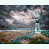 A Stroll Upon The Dunes Original Painting - SOLD - Prints Available