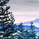 Top of Bald Hill Original Painting
