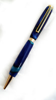 Blue Silk Pen