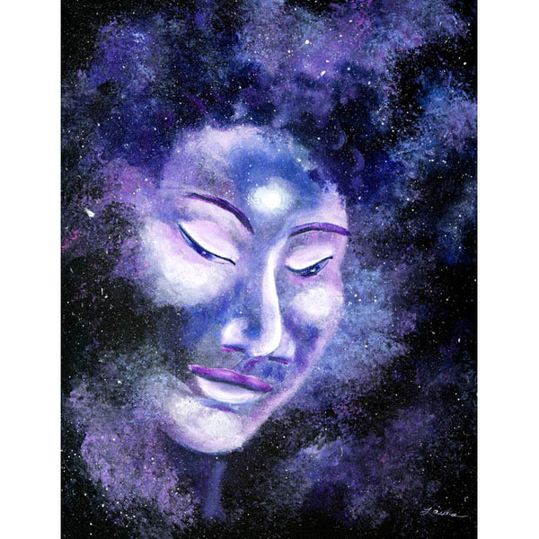 Star Buddha of Equanimity Original Painting