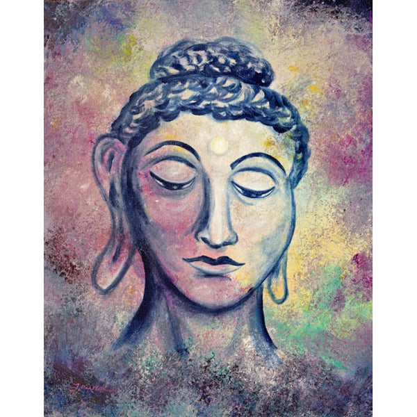 Kind Buddha Original Painting