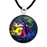 Aurora Tree of Life Meditation Pendant on Zen Cord Necklace - Laura Milnor Iverson Official Site