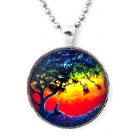 Opening the Chakras Meditation Handmade Pendant - Laura Milnor Iverson Official Site