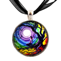 Tree of Life Meditation Handmade Pendant Necklace Laura Milnor Iverson Official Site