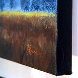 Winter Light over a Meadow Original Painting
