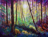 Forest Dream Original Painting Laura Milnor Iverson Official Site