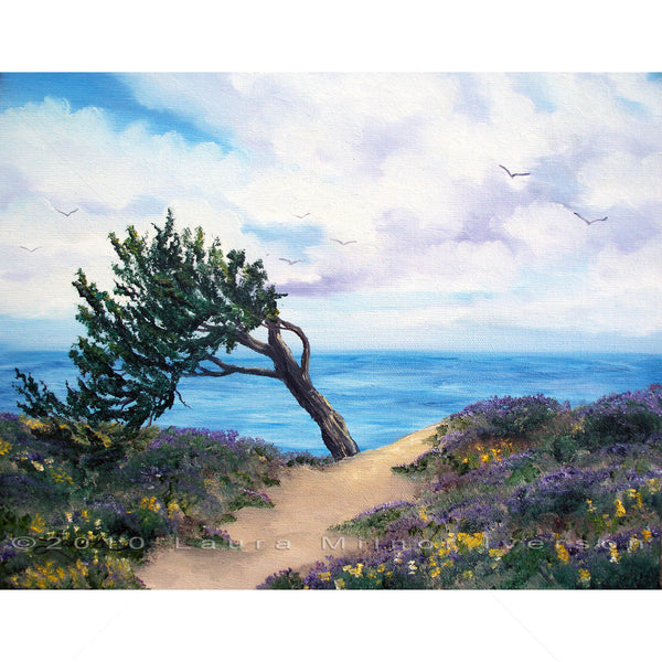 Sea Coast at Half Moon Bay Original Painting