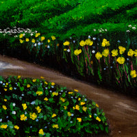 Unexpected Summer Rain Original Painting Laura Milnor Iverson Official Site
