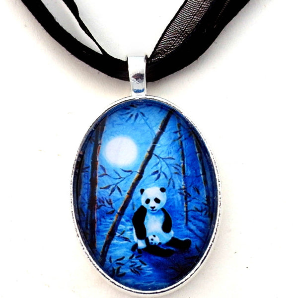 Midnight Lullaby Handmade Pendant - Laura Milnor Iverson Official Site