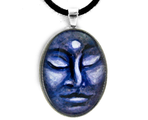 Buddha Face Handmade Pendant Laura Milnor Iverson Official Site