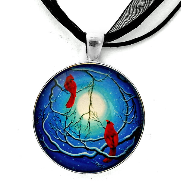 Winter Peace Handmade Pendant Laura Milnor Iverson Official Site