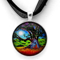 Buddha Healing the Earth Handmade Pendant