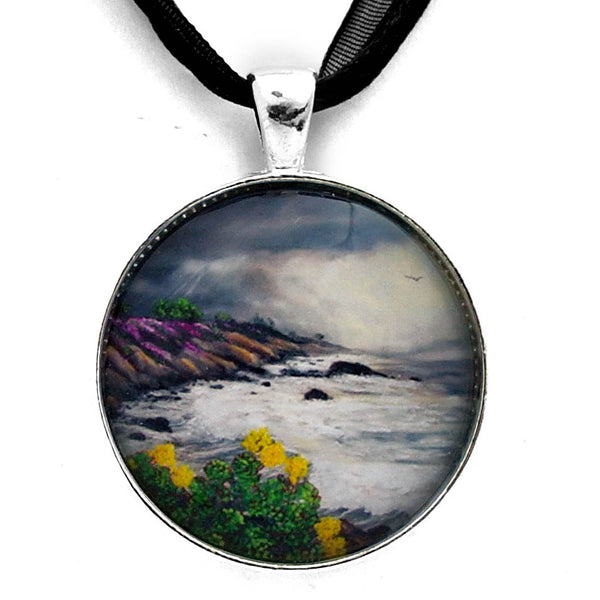 The Last Storm Handmade Pendant Laura Milnor Iverson Official Site
