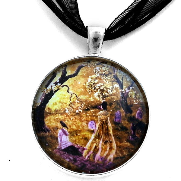 The Fading Memory of Lenore Handmade Pendant Laura Milnor Iverson Official Site