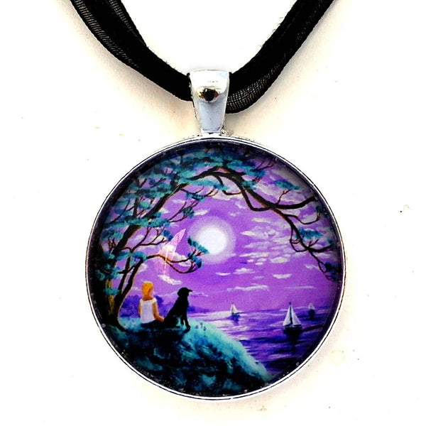 A Breeze from the Bay Handmade Pendant Laura Milnor Iverson Official Site