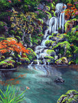 Heavenly Falls Original Painting Laura Milnor Iverson Official Site
