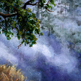 Luna in Mist and Fog Original Painting