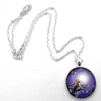 Singing Her Melody to the Night Handmade Pendant Laura Milnor Iverson Official Site