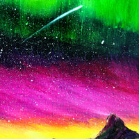 Magical Night Meditation Original Painting