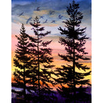 Oregon Sunset 1 Original Painting SOLD Prints Available