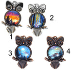 Owl Pendant Necklace - Laura Milnor Iverson Official Site
