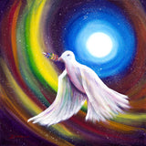 Love is Love Peace Dove Original Painting