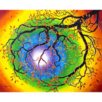 Chakra Peace Tree Meditation Original Painting