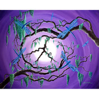 Bayou Peace Tree Original Painting