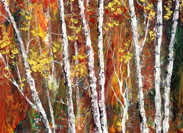 Welcome Autumn Original Painting Laura Milnor Iverson Official Site