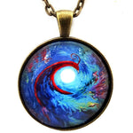 Firebird Swirling Creation Handmade Pendant Laura Milnor Iverson Official Site